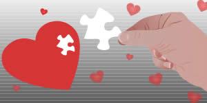 Quem é a peça que completa o quebra cabeça do seu coração?