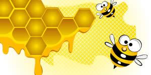 Quais amigos seus são doces como um favo de mel?