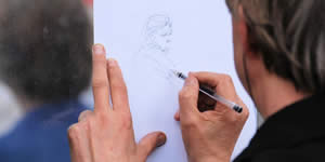 Let us draw you! How do you think it is going to be?