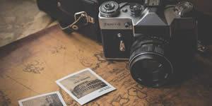 Como ficariam suas fotos tiradas com uma câmera antiga?